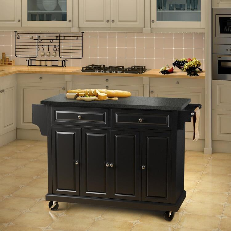 Naomi Home Woodstock Culinary Cart