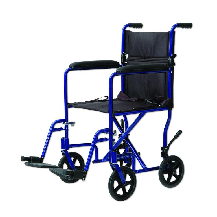 Lightweight Aluminum Portable Wheelchair