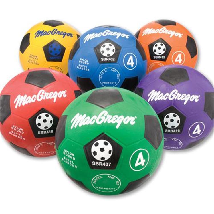 Macgregor® Rubber Soccerballs