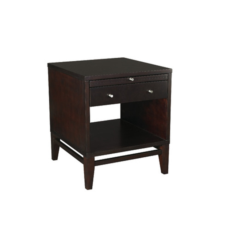 Quazar Rectangular Drawer End Table
