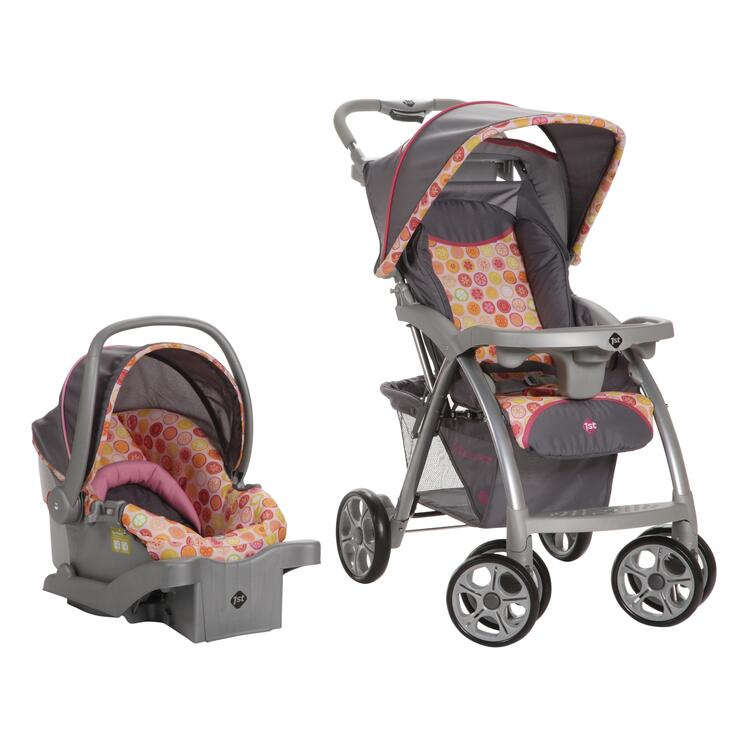 Safety 1st® Saunter Travel System (Citrus)