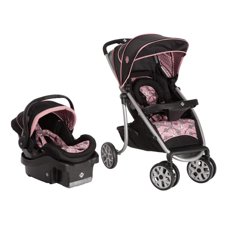 Safety 1st SleekRide LX Travel System (Vintage Romance)