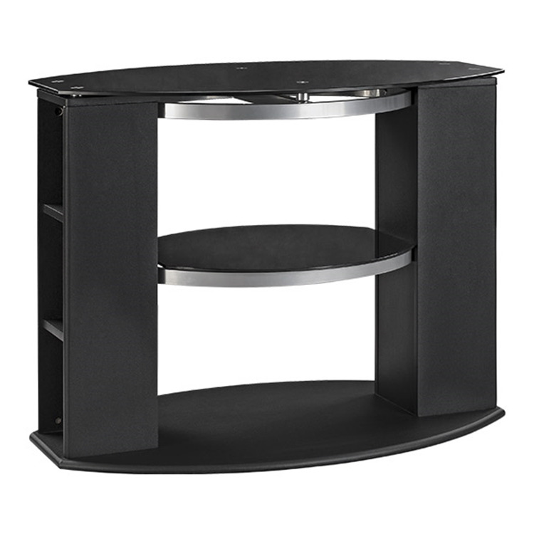 Elipse TV Stand with Glass
