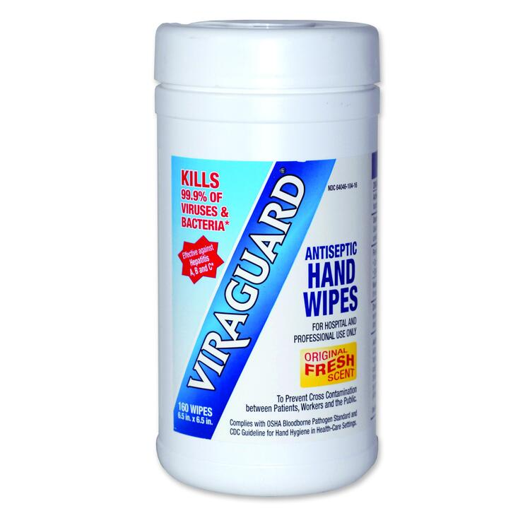 Viraguard® Antimicrobial Hand Wipes
