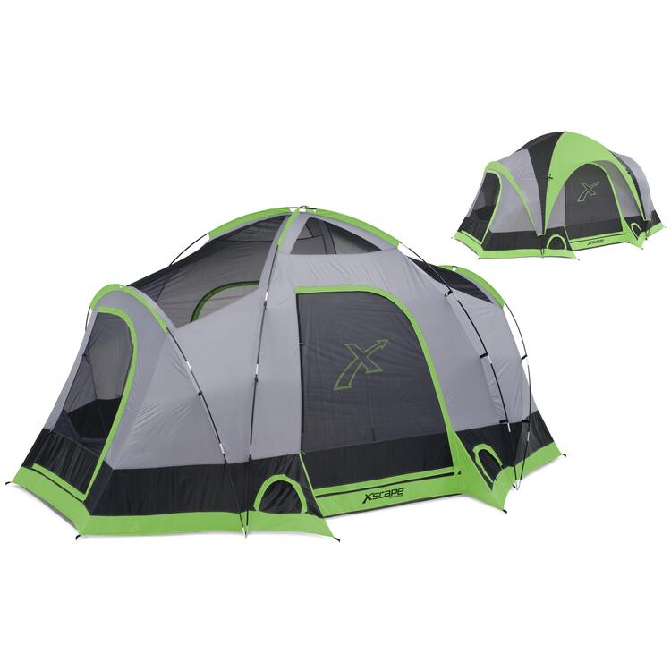 Xscape vista 6 6 person dome tent by oj commerce for Xscape garden design