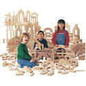 Unit Blocks - Individual Set Of 45 Pieces, 14 Shapes