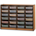 Sproutz 24 Paper-tray Cubbie With Clear Paper-trays