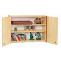 Jonti-craft Wall Cabinet - Lockable