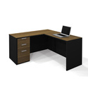 Pro-Concept L-Shaped Workstation Deluxe Set