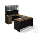 Pro-Concept U-Shaped Workstation with High Hutch Deluxe Set
