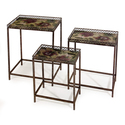 Set of 3 Maniera NesMetalg Tables