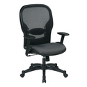 Professional Air Grid Back Managers Chair with Fabric Seat