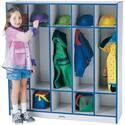 Jonti-craft Double Sided Coat Locker - 5 Sections