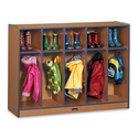 Sproutz® Toddler Coat Locker - 5 Sections - Red