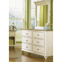 Ocean Isle 6 Drawer Dresser