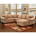Exceptional Designs Patriot U-Shaped Sectional