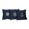 Set of 3 Admiral Pillows