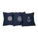 Set of 3 Admiral Pillows