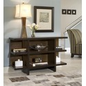Geo Walnut Console & Sofa Table