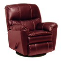 Cosmo Leather Swivel Glider Recliner