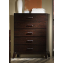 Franklin Merlot 5 Drawer Chest