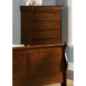 Carrington Cherry 5 Drawer Chest