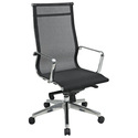 High Back Managers Chair with Mesh Back and Seat