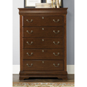 Heritage Court 5 Drawer Chest