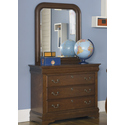 Heritage Court Rounded Mirror