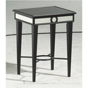 Black/Mirror Accent Table