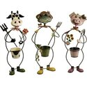 Farmhouse Friends Planters - Set of 3