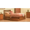 Brooklyn w/Raised Panel Footboard
