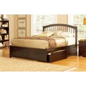 Windsor w/ Flat Panel Footboard