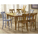 Set of 2 Barbados Counter Dining Chairs