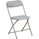 Hercules Series 440 lb. Capacity Premium Plastic Folding Chair