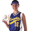 Dazzle Sleeveless Softball Jersey