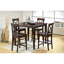 Cobalt 5 pc. Dining Set