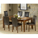 "Davenport Slate Dining Table with 12"" Leaf"