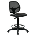 Deluxe Mesh Back Drafting Chair with Foot Ring