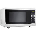 0.7 Cu. Ft. 700W White Countertop Microwave Oven