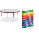 Kydz Activity Table - Round