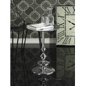 Tribeca Aluminum Pedestal Side Table