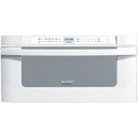 REFURBISHED 30 In. 1000W Insight Pro Microwave Drawer Oven in White