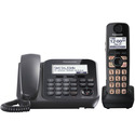 DECT 6.0 Plus Expandable Digital Cordless Answering System with 1 Corded and 1 Cordless Handset