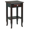 Merlot Telephone Table with Drawer