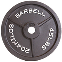 CAP Barbell Black Olympic Weight Plate