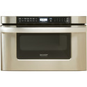 24 In. 1000W Insight Pro Microwave Drawer Oven in Stainless Steel