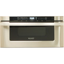 30 In. 1000W Insight Pro Microwave Drawer Oven in Stainless Steel
