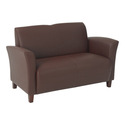 Eco Leather Love Seat