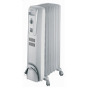 Safeheat 1500W Basic Portable Oil-Filled Radiator - Light Grey